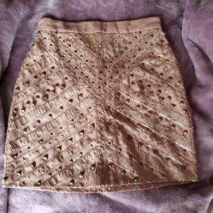 Dresses & Skirts - Bebe embellished skirt